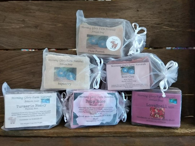 Morning Glory Farms Soaps