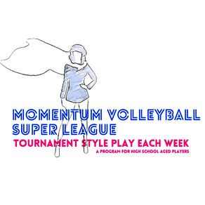 **SOLD OUT** Girls VB 6 on 6 SUPER LEAGUE For High Schoolers- Registration Now Open!