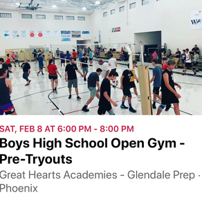 Open Gym for High School Boys- Prepare for School Tryouts