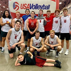 MVC 18N Black takes 5th Place Overall at the 2019 USAV Boys JR National Championships!