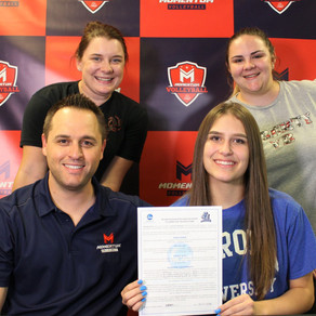 Brooke Peters Signs with Aurora University! Congratulations!