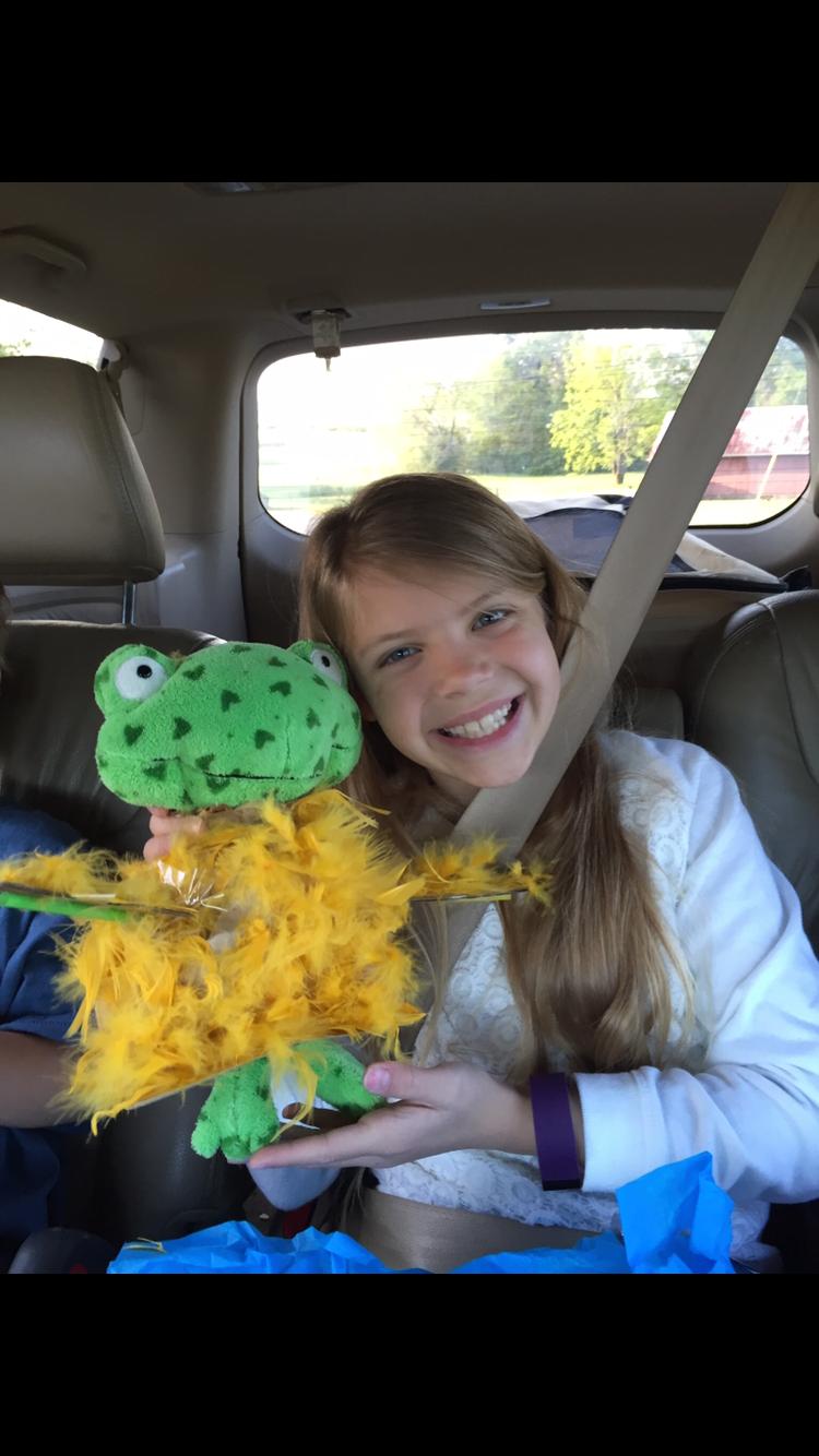 Ashlyn and her 'Drog'