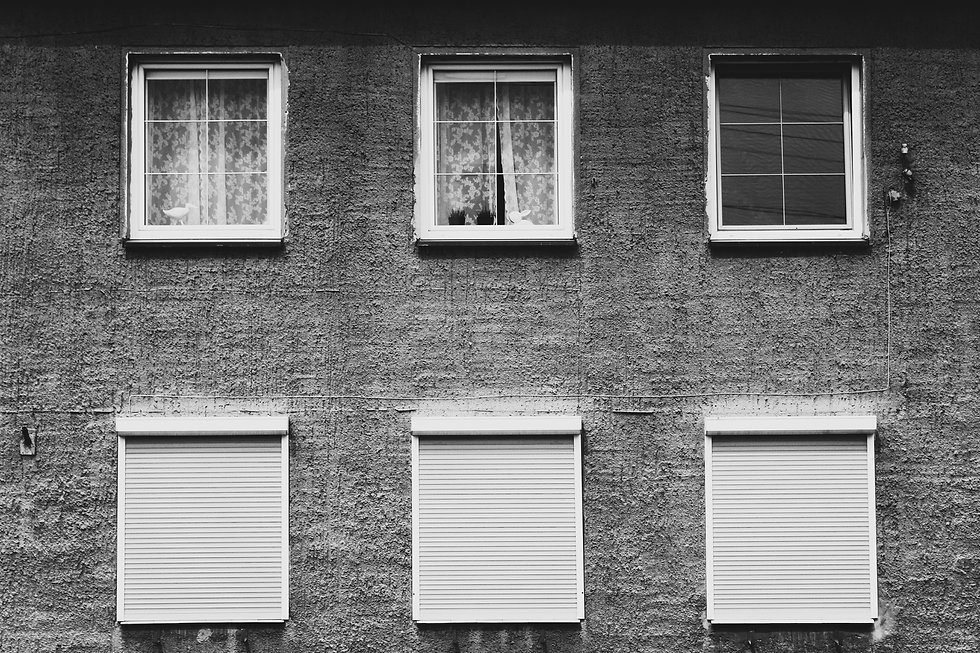 Canva - Monochrome Photography of Window