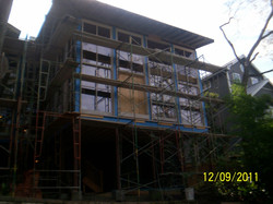Exterior showing 4 of 9 15'6%22 windows.