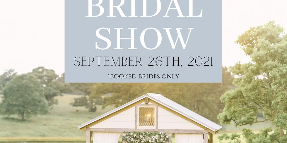 Fall 2021 Bridal Show- Food and Wine Tasting