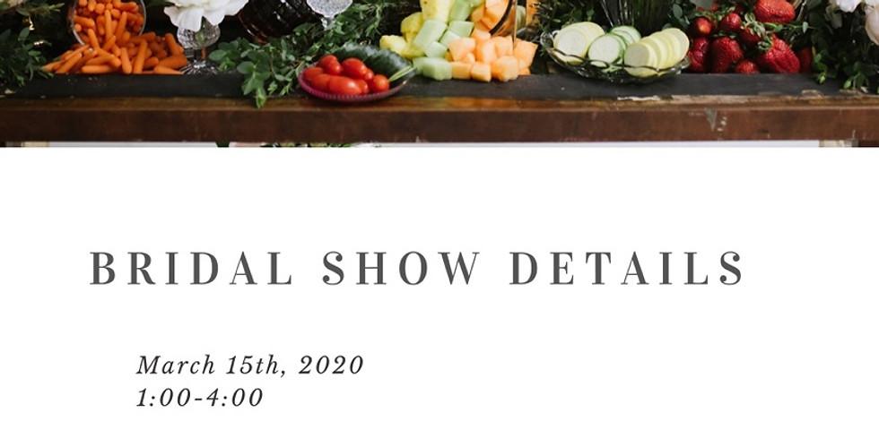 Spring 2020 bridal show