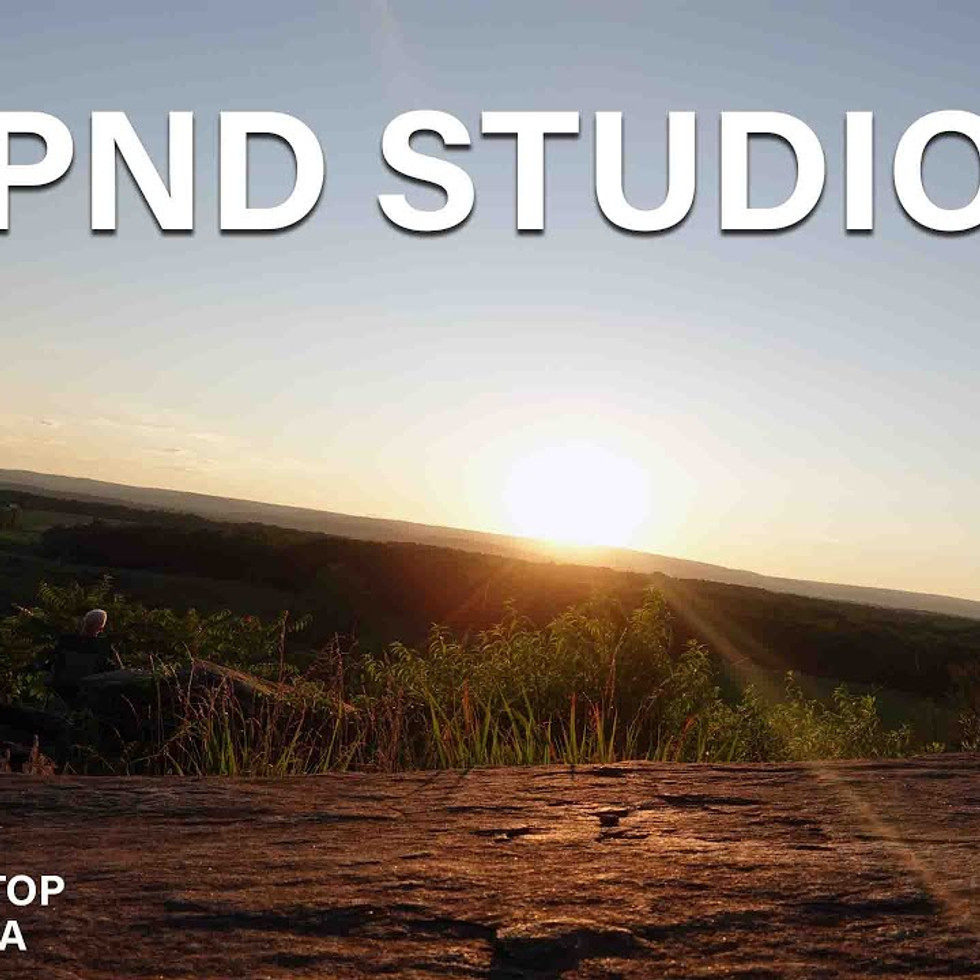 Sunset at Little Round Top, Gettysburg, PA.  Created by PND Studios and Visual Production
