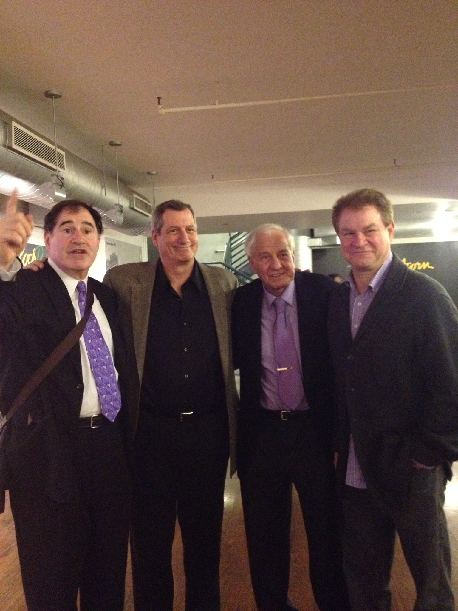 Richard Kind, Mike Bencivenga, Garry Marshall