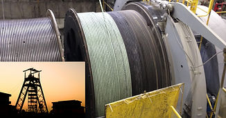 Mining Hoist Wire Rope Lubrication