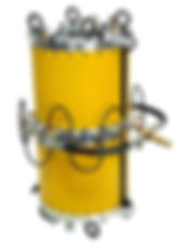wire rope lubrication collar 7105-BOS