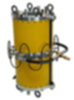 wire rope lubrication 7105-BOS Collar
