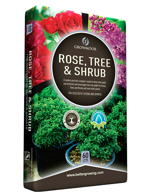 Rose Tree and Shrub Compost 60 Litre