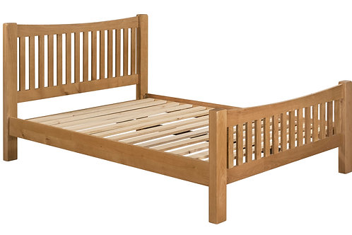 "Torino Double Bed Frame (4'6"")"