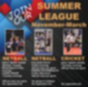 SQUARE Netball Cricket summer WEB EMAIL.