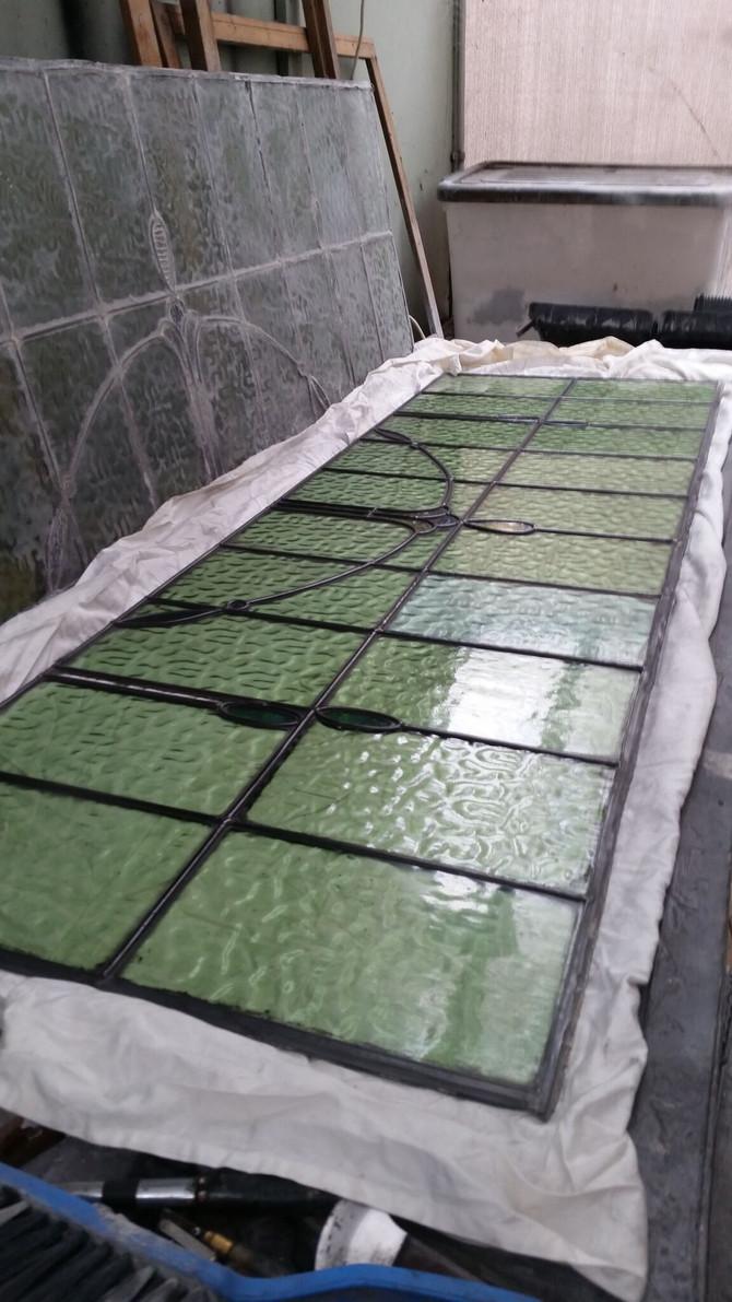 Glass Restoration & Relocation