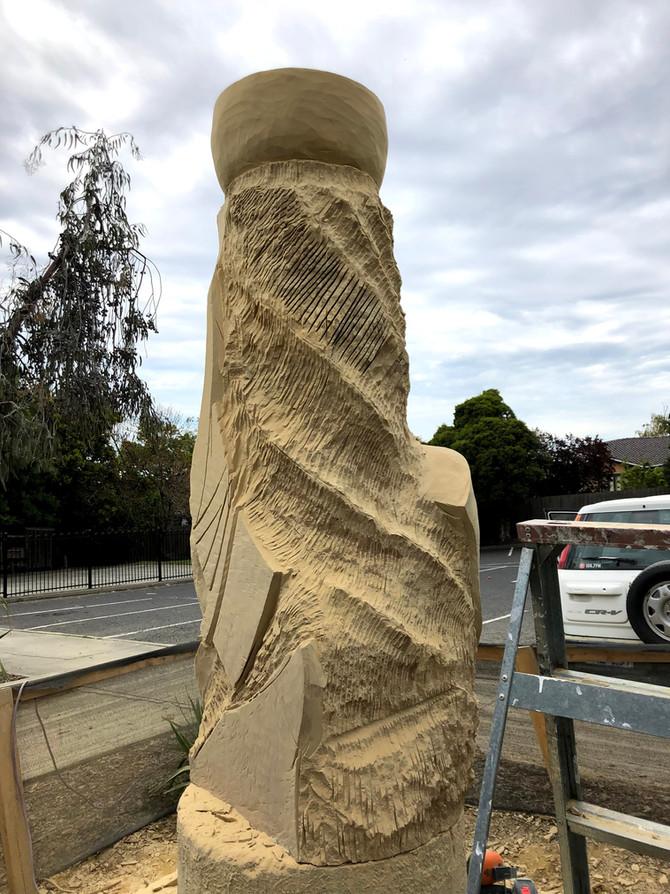 Enveloped No2 - Sculpture Progress Update