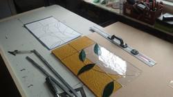 4. Cut Glass To Fit Cartoon