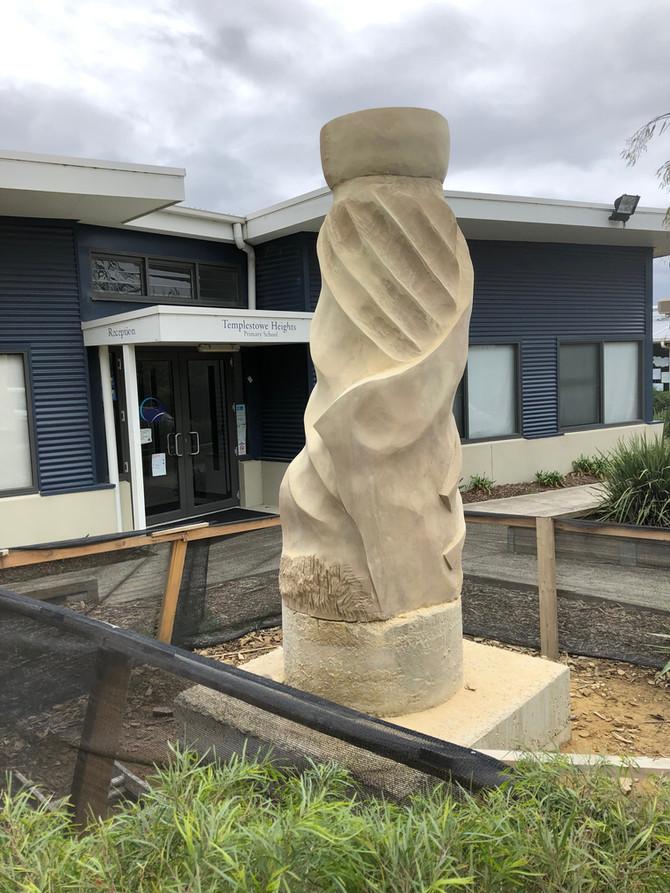 'Enveloped' No2 - Sculpture Update