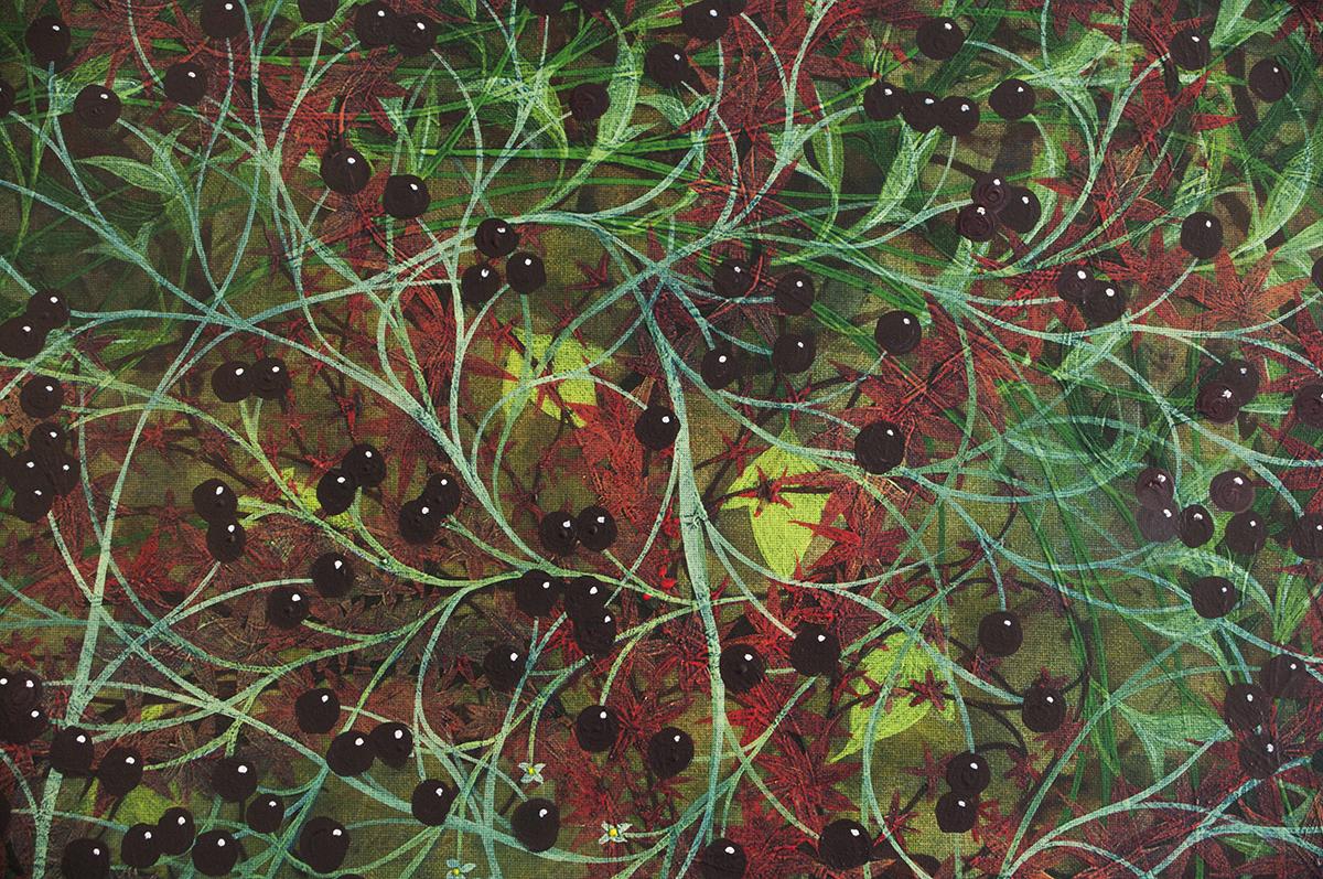 Cherries - Garden 1 Detail