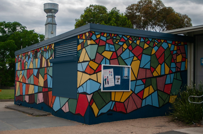 New Mural For Primary School