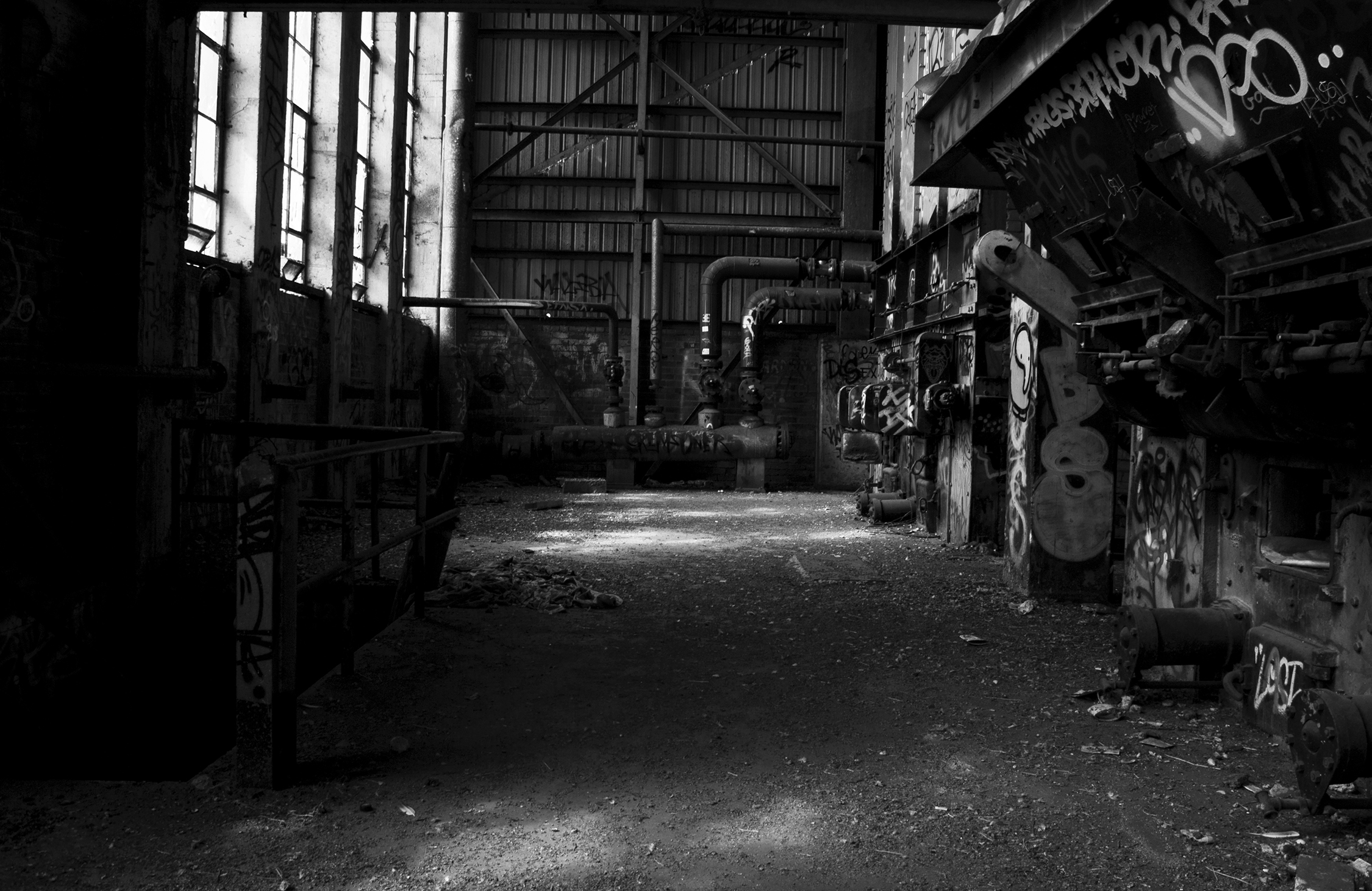 Old Melbourne - Derelict Factory