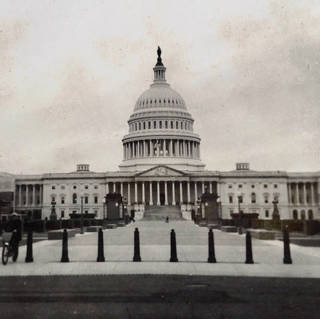 THE CAPITOL FROM EAST CAPITOL STREET (9157)