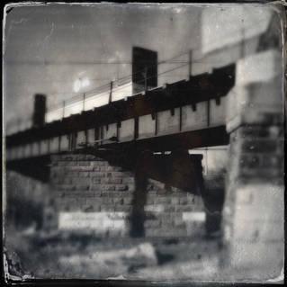 TRAIN BRIDGE, DELAWARE (E5922)