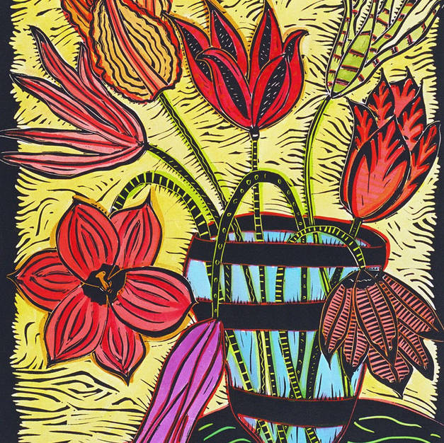 Eight Tulips