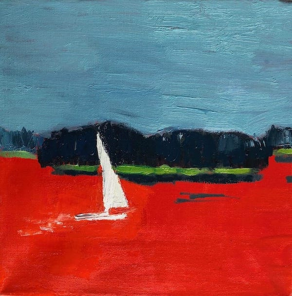Lone Sailor, Stonington