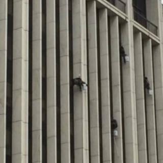 WINDOW WASHERS, NYC (5288)