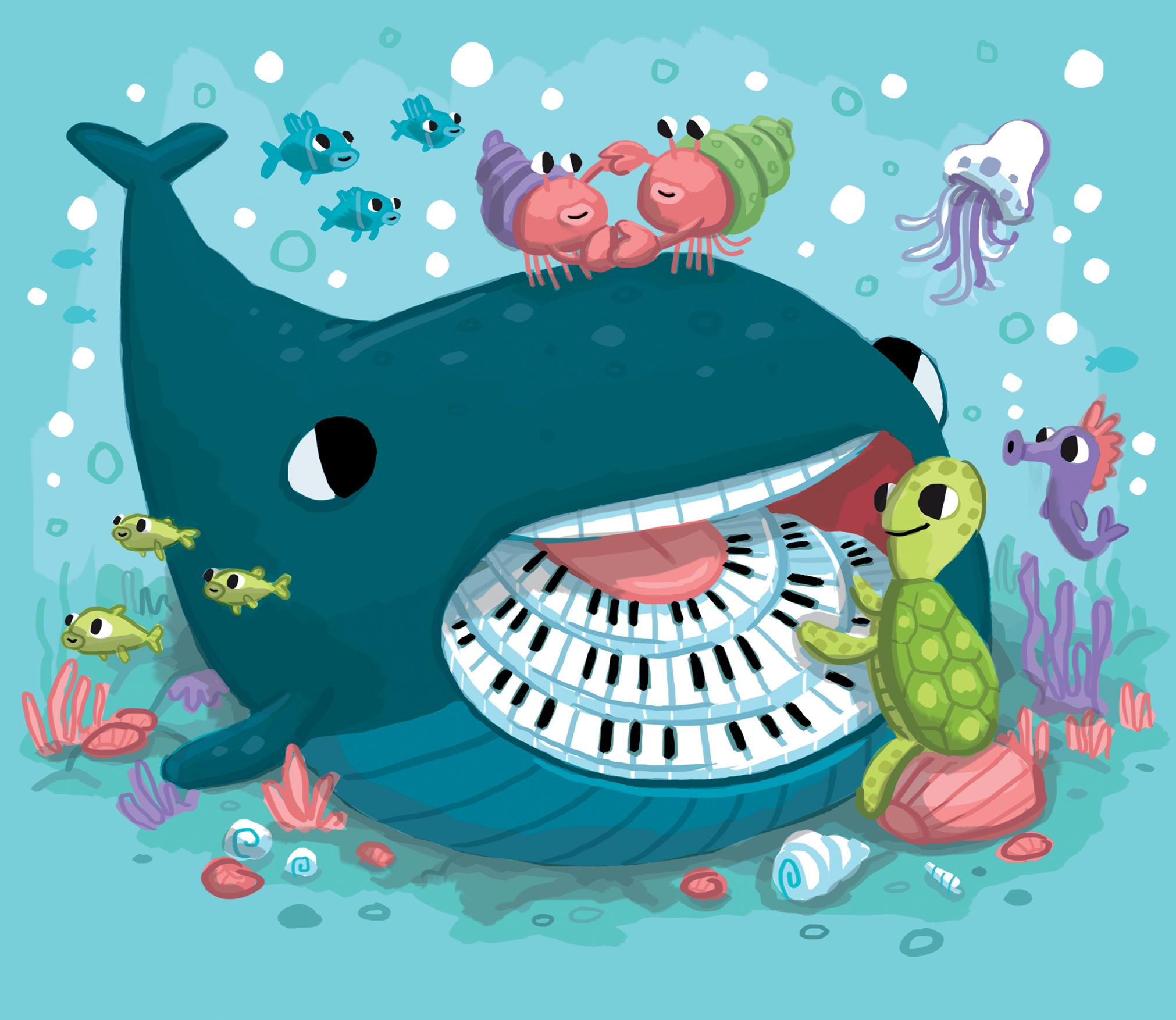 Whale Piano