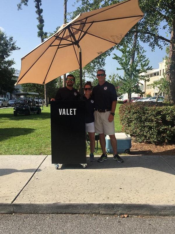 Palmetto Valet Parking employees