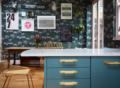 Project >> The Pink House Kitchen