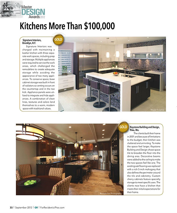 luxury kitchen designs by signature interior designs ny
