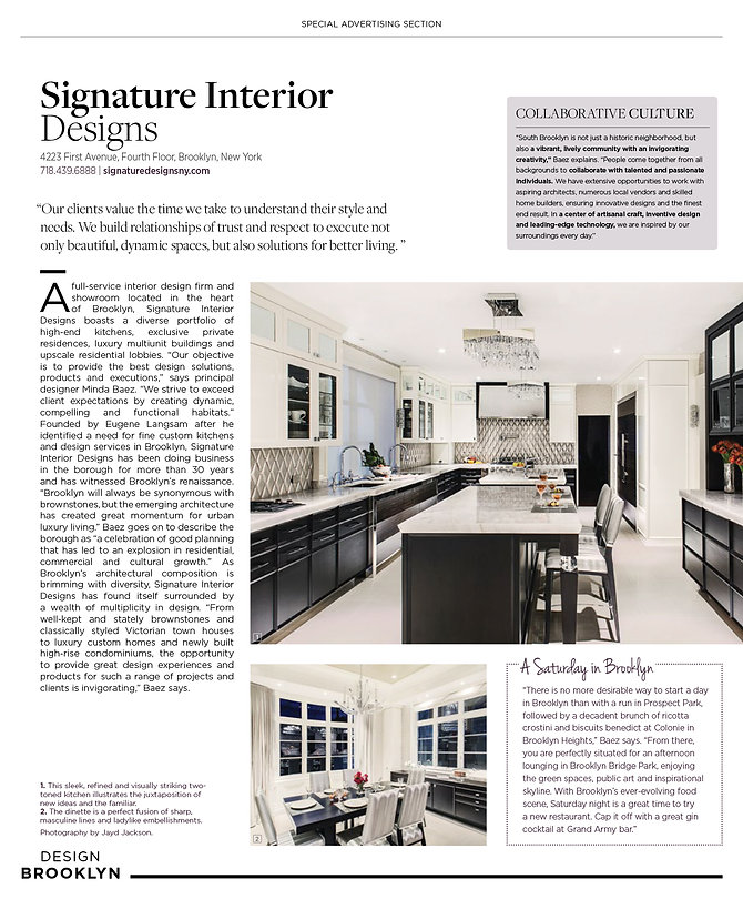 modern luxury contemporary and transitional interior and kitchen designs by signature interior designs ny