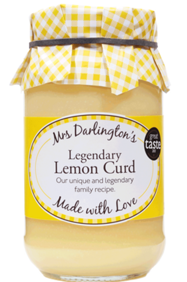 Mrs Darlington's Lemon Curd