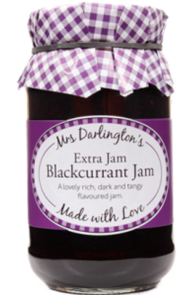 Mrs Darlington's Blackcurrant Jam
