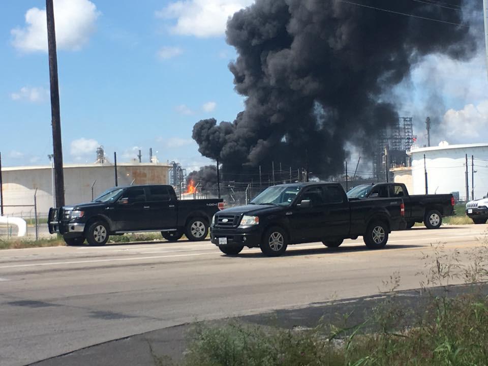 Major fire at Valero Port Arthur, TX