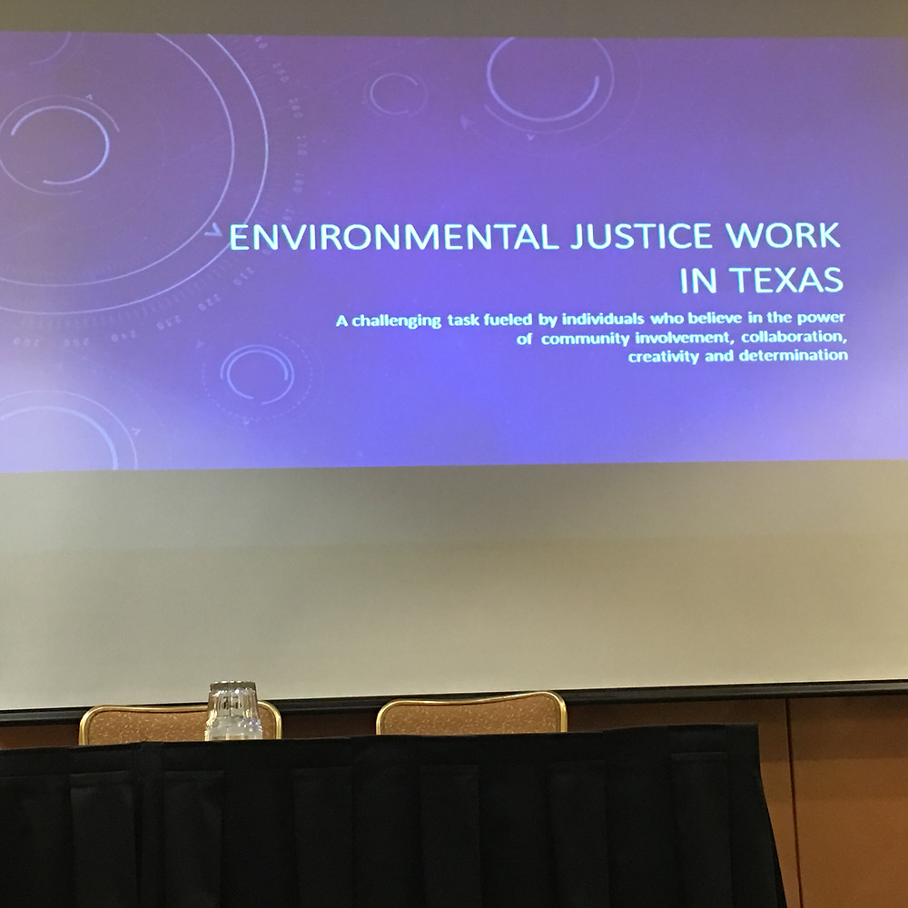Environmental Justice Work in Texas: A challenging task fueled by individuals who believe in the power of community involvement, collaboration, creativity and determination.