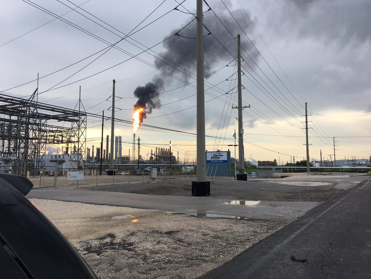 Chevron Phillips Flare