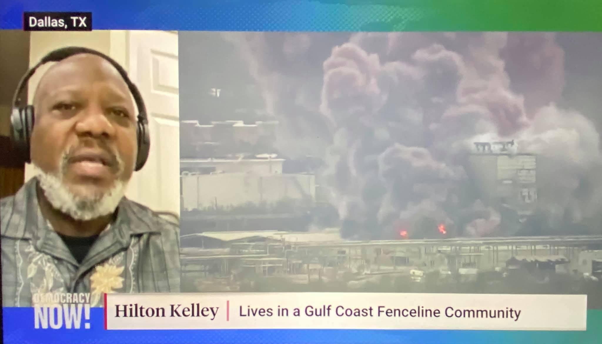Hilton Kelley on Democarcy NOW.