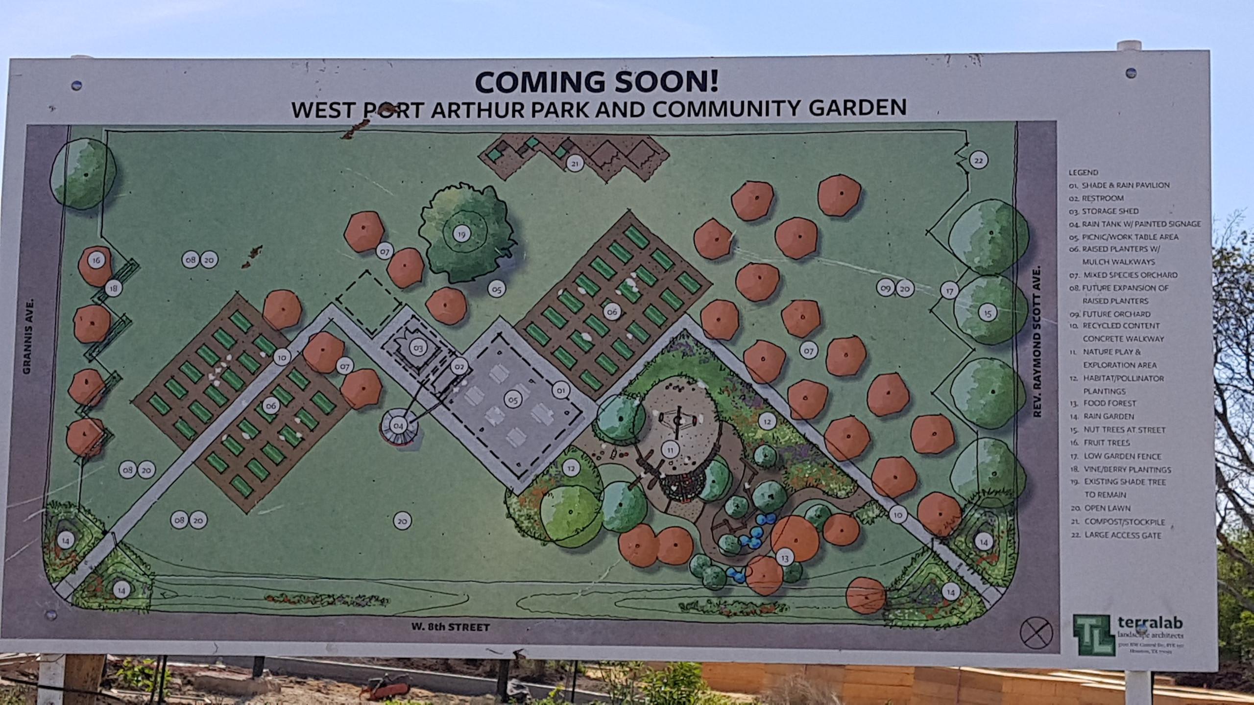 Park & Garden Map
