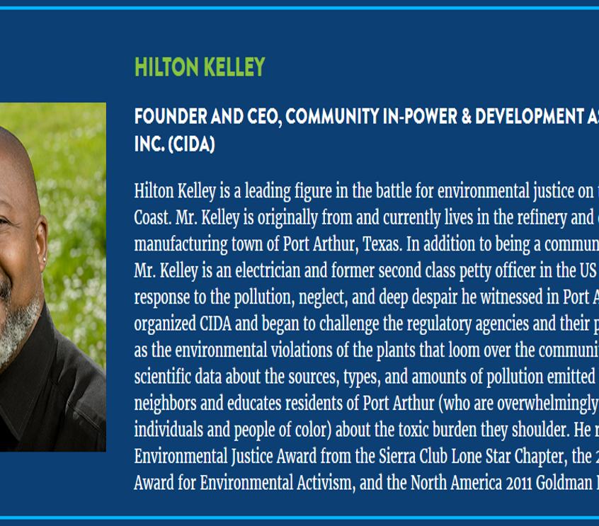 Hilton Kelley Speaker Bio