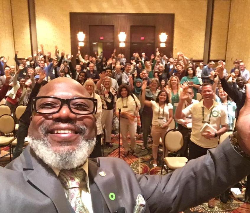 Speaker & Trainees Selfie