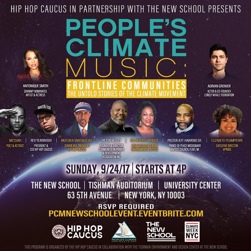 People's Climate Music Speakers
