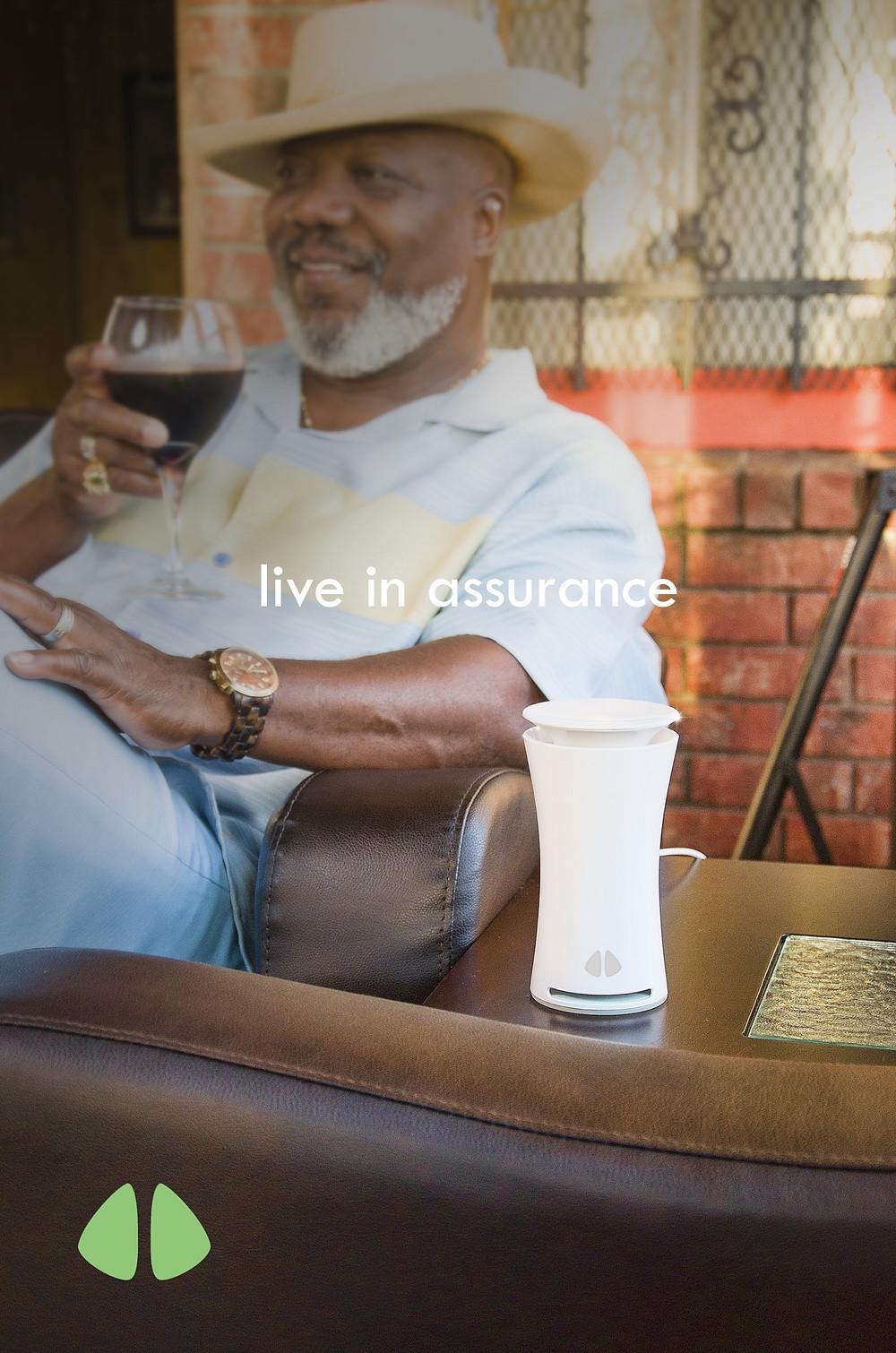 visit www.uhooair.com/HiltonKelley for the Special Edition uHoo air Sensor