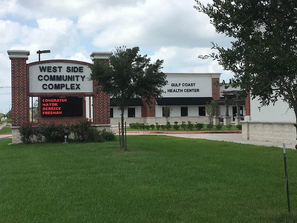 Gulf Coast Health Center in the West Side Community Complex