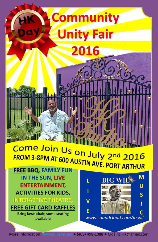 Join Us at the Community Unity Fair 2016