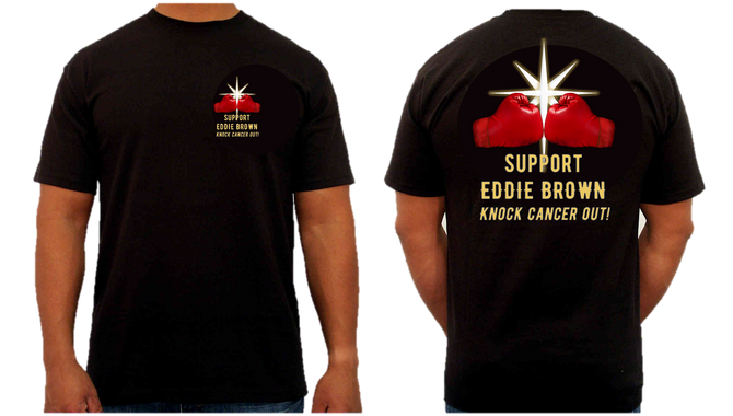 Last chance to get your Eddie Brown T-shirt!