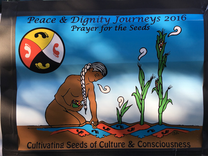 Friends from the Peace & Dignity Journeys 2016
